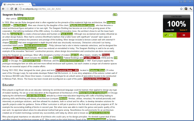 Check My Links Chrome Extension Image