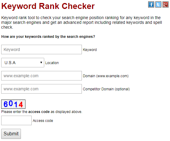 SEOCentro Rank Checker